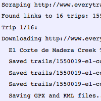 EveryTrail Export